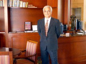The Honorary Consul Ohan Yergainharsian